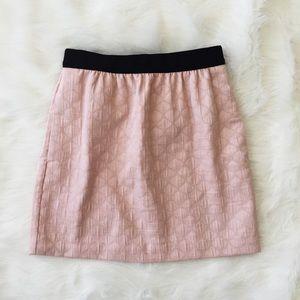 Ann Taylor Loft Blush Pink Mini Skirt